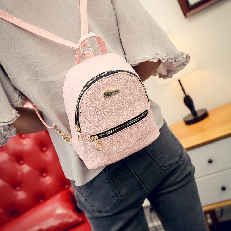 Newly Fashion Women Mini Backpack PU Leather College Shoulder Satchel School Rucksack Ladies Girls Casual Travel BagNewly Fashion Women Mini Backpack PU Leather College Shoulder Satchel School Rucksack Ladies Girls Casual Travel Bag