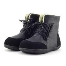Замшевые одежда для малышей Снегоступы толстые мягкие школьная обувь Кружево-Up Шорты для женщин без каблука Botas Size22-33 Новый Обувь для мальчиков Обувь для девочек зимние сапоги