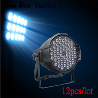 54 * 3W LED PAR light RGB waterproof LED par stage lighting DMX control dj equipment outdoor par lamp (12pcs/lot)