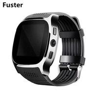 Fuster MTK6261D t8 بطاقة sim الذكية مشاهدة bt الدعوة والموسيقى دعم راديو fm كاميرا 0.3mp اليد