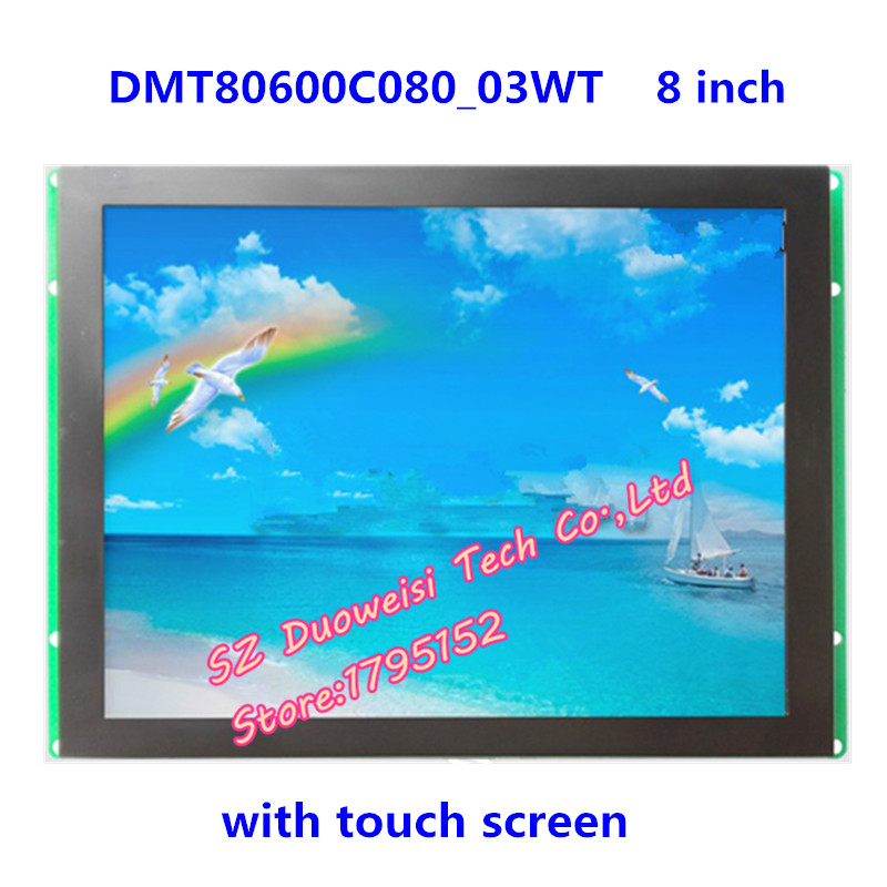 DMT80600C080_03WT LCD module serial 8 resistive touch screen DGUS LCD screen robopeak 2 8 lcd resistance touch screen module w micro usb black