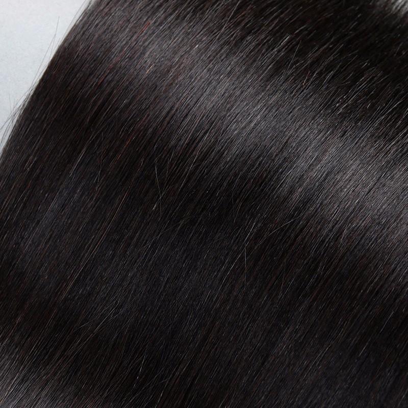 Sleek Straight Peruvian Virgin Hair 3 Bundles Peruvian Straight Hair Peruvian Straight Virgin Hair Virgin Peruvian Hair Bundles (3)