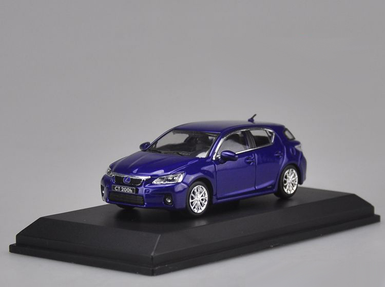 1 43 Cast Model Car For Lexus Ct200h Blue Hatchback Alloy Toy Collection Ct200 Ct 200h