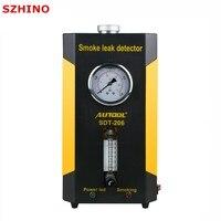 Новое поступление autool SDT 206 автомобилей дым машины для продажи автомобили утечки локатор автомобильной диагностический течеискатель SDT206