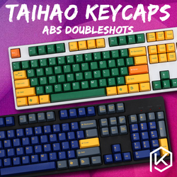 Taihao ABS Double Shot Tombol untuk DIY Gaming Mekanis Keyboard Warna Top Gun DZ Hydro Biokimia Radiasi
