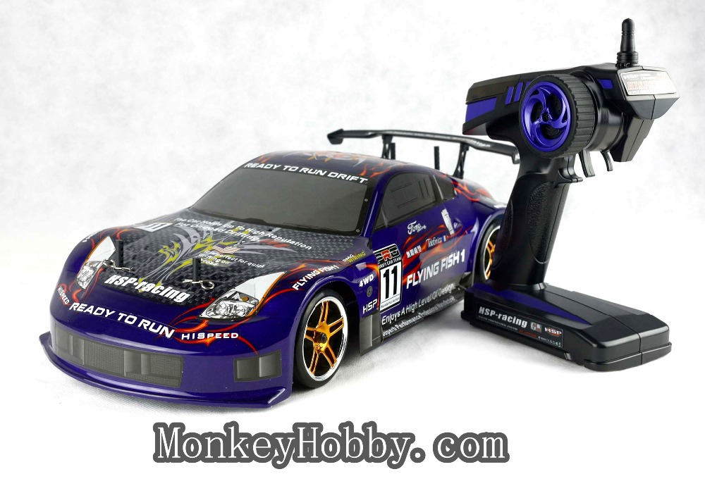 Hsp Purple Flying Fish Rc Electric Drift Car