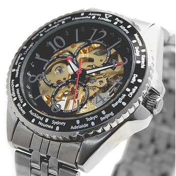 Смарт-часы из нержавеющей стали с циферблатом золотого цвета, подарок в коробке