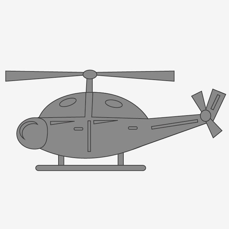 Helicopter Cartoon Serie Stansmessen Stencils Voor Scrapbooking Card Decor Diy Ambachten Stansen En Stansmessen