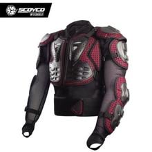 Летнее обновление, мотоциклетная броня, дышащая, для мотокросса, для гонок, полный протектор, снаряжение, броня, куртка, Scoyco AM02-2