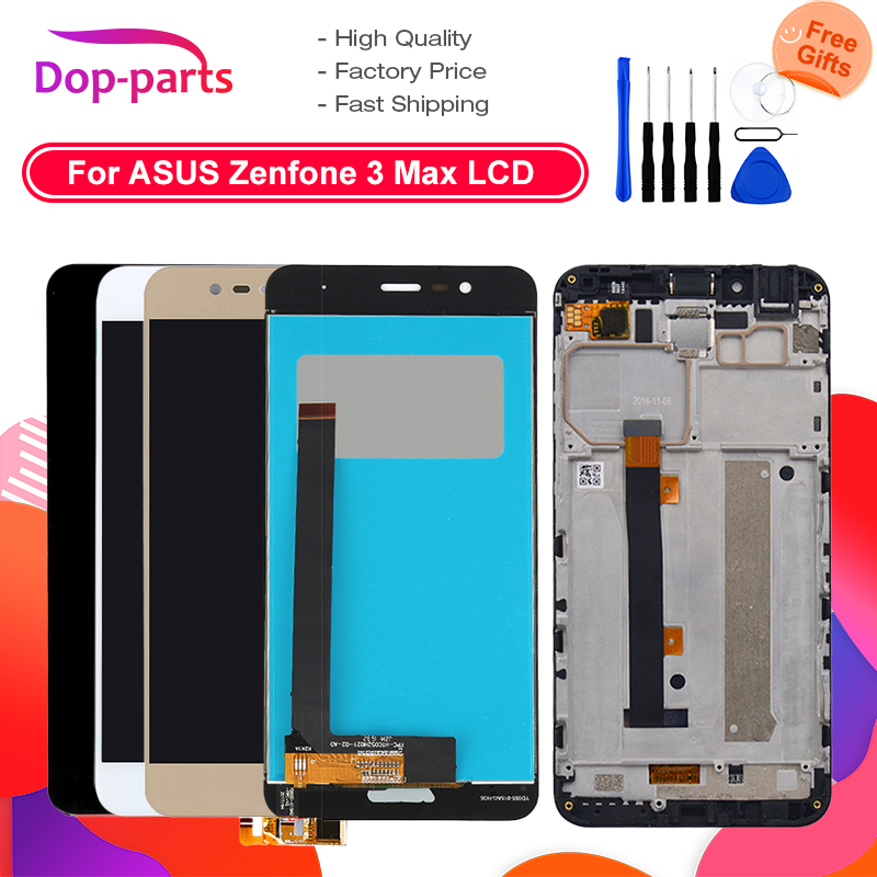 1920x1080 <font><b>Display</b></font> For <font><b>ASUS</b></font> <font><b>Zenfone</b></font> <font><b>3</b></font> <font><b>Max</b></font> <font><b>ZC520TL</b></font> <font><b>Display</b></font> Touch Screen with Frame for <font><b>ASUS</b></font> <font><b>Zenfone</b></font> <font><b>3</b></font> X008D <font><b>ZC520TL</b></font> LCD <font><b>Display</b></font> image