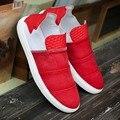 2016 Moda Pharrell Williams Washed Denim Zapatos de Lona Transpirable Casual Zapatos Tenis Zapatillas Hombre Chaussure Homme Schoenen