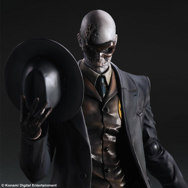 Super Cool High Quality Metal Gear Solid V - THE PHANTOM PAIN Original SQUARE ENIX Play Arts Kai Action Figure - Skull Face ламинатор fellowes l80 a4 75 80мкм 30см мин