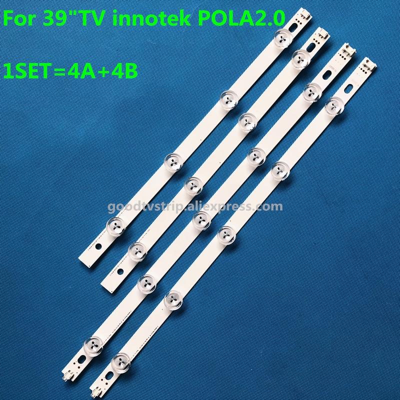 100%New and Original 8 Pieces LED Bar backlight for TV 39LN5300 LG innotek POLA 2.0 POLA2.0 39A/B type HC390DUN-VCFP1 антилай innotek bc 50b в ярославле
