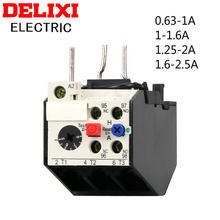 Реле тепловой перегрузки delixi реле защиты тока 063 1a 1 16a
