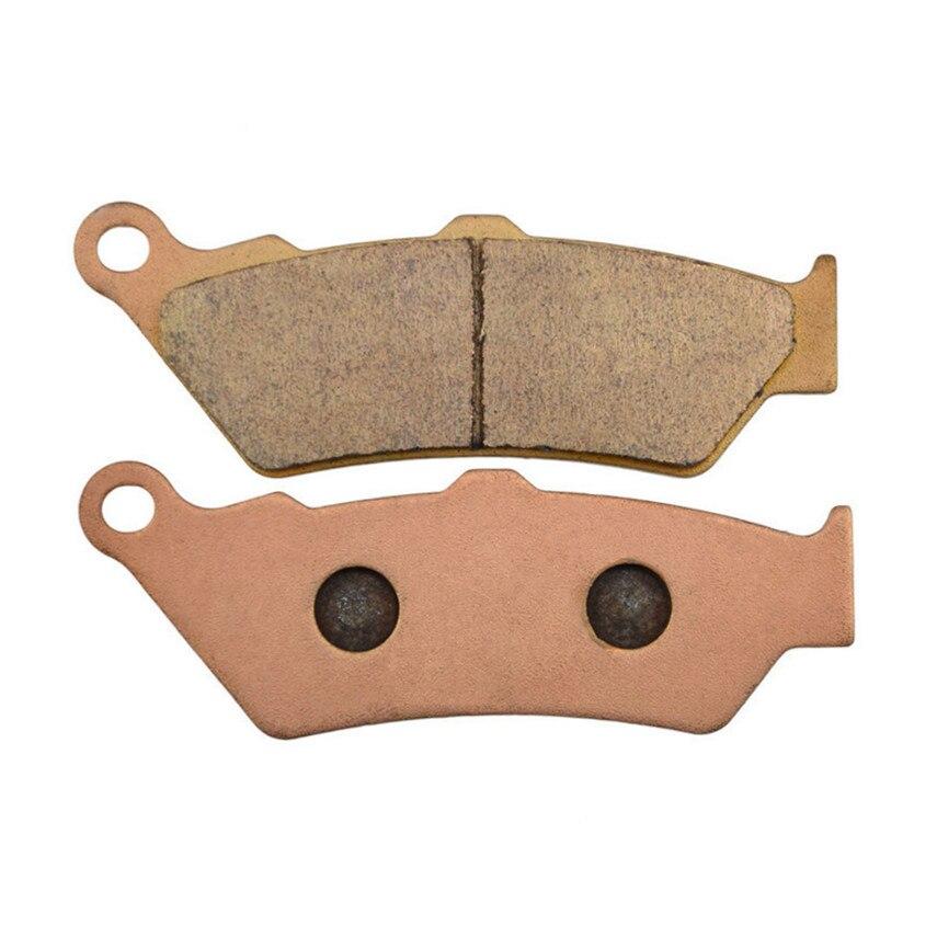 Motorcycle Parts Copper Based Sintered Brake Pads For HONDA NX650 NX 650 V/W/X Dominator 1997-2002 Front Motor Brake Disk #FA209  цены
