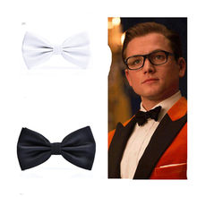 Film Kingsman The Golden 2 Circle Taron Egerton Cosplay The Same Tie cClip High Quality Suit Accessories(China)