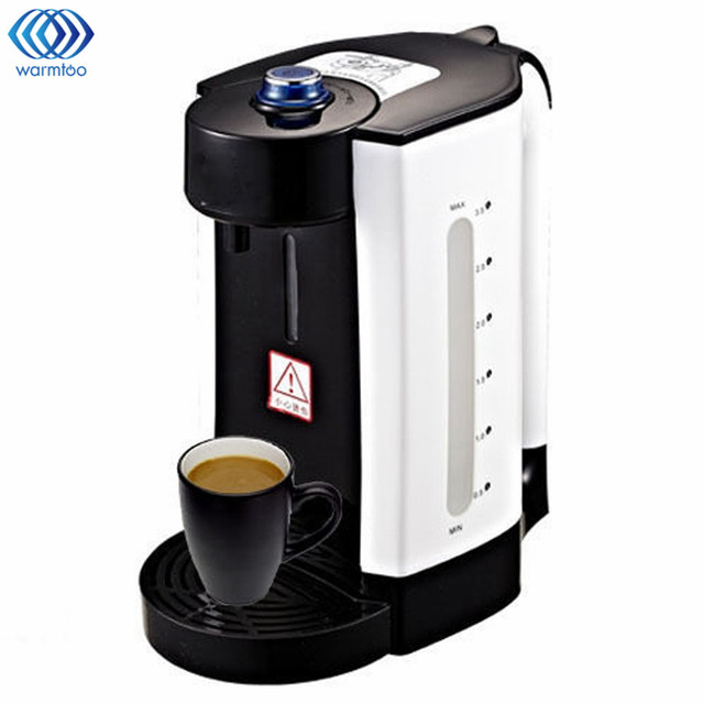 3l Electric Water Boiler Instant Heating Kettle Dispenser Adjule Temperature Coffee Tea Maker Office