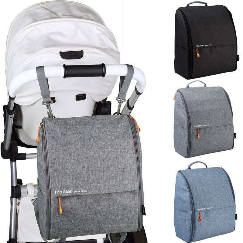 Baby Stroller Organizer Backpack Nappy Mummy Bag Cup Holders And Shoulder Strap Baby Stroller Accessories Travel Nappy Bag