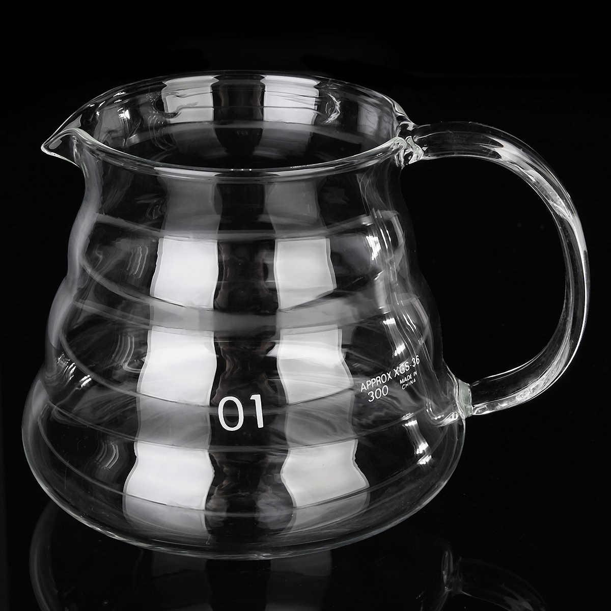 350 ml 580 ml 800 ml máquina de café de goteo de agua reutilizable herramientas de filtro de vidrio Espresso taza de goteo de café helado frío cerveza máquina de café