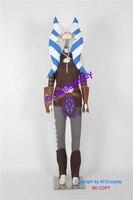 Звездные войны Ahsoka Tano косплейный костюм ACGcosplay супер Hero super Hero Костюм