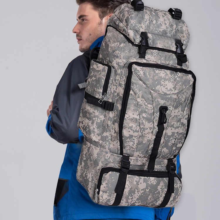 جديد في الهواء الطلق Acu حقيبة بنقوش عسكرية تسلق الجبال على ظهره حقيبة خيمة المهنية 60 لتر حقيبة سفر فاخرة