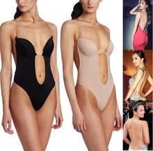 Shoulder strap bra chest supporting steel gather backless slimming underwear