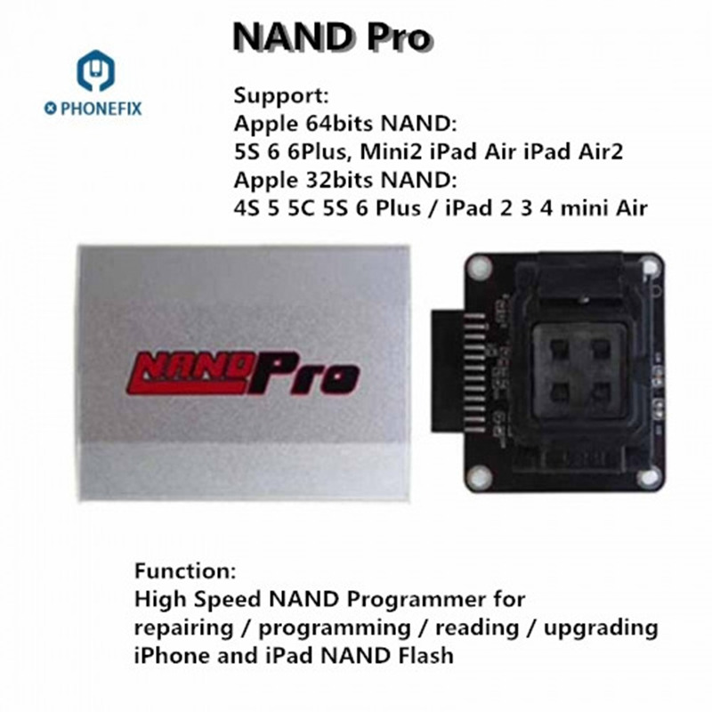 Tools : JC Pro1000S JC P7 PCIE Naviplus Pro3000S iP Box NAND Programmer SN Read Write Tools For All iPhone iPad Memory Upgrade