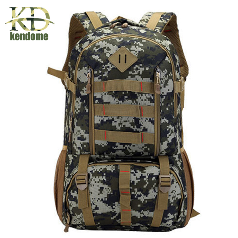 Hot 50L Molle Camo Tactical Backpack Military Army Mochila Waterproof Hiking Hunting Backpack Tourist Rucksack Outdoor Sport Bag excellent elite spanker outdoor military waterproof travel backpack army tactical hiking nylon bag molle hunting sport backpack