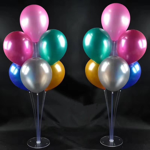 Balloon column base sets box cm high