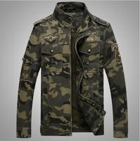 2017 primavera outono moda jaqueta de camuflagem militar uniforme do homem durão jaquetas homens revestimentos da motocicleta plus size M-3XL