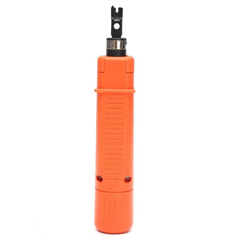 Impact punch Подпушка инструмент 1 шт. сети RJ45 RJ11 кабель щипцы Провода вырезать удар Подпушка инструмент удар Подпушка вставкой отрезок кабеля