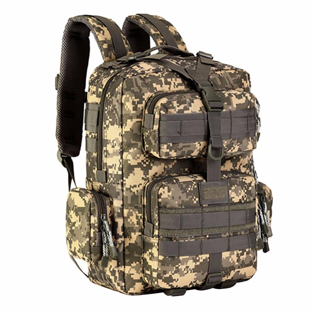 Sacs à dos en Nylon imperméables à l'extérieur sacs à dos tactiques Molle sacs à dos d'ordinateur portable sac à dos militaire sacs à dos sac de voyage Pack HX002 - 6