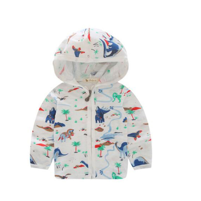 baby boys outerwear sun protection boys hoodies summer coats for kids casual children jackets for boys