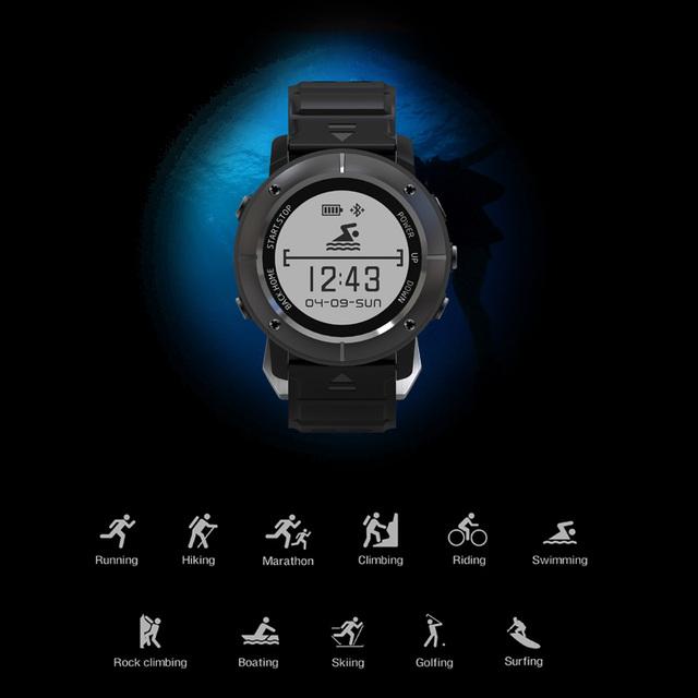 SMARTELIFE Outdoor Sports Wearable Smart Watch For Triathlon Running Fitness With GPS Heart Rate Women Men Smartwatch