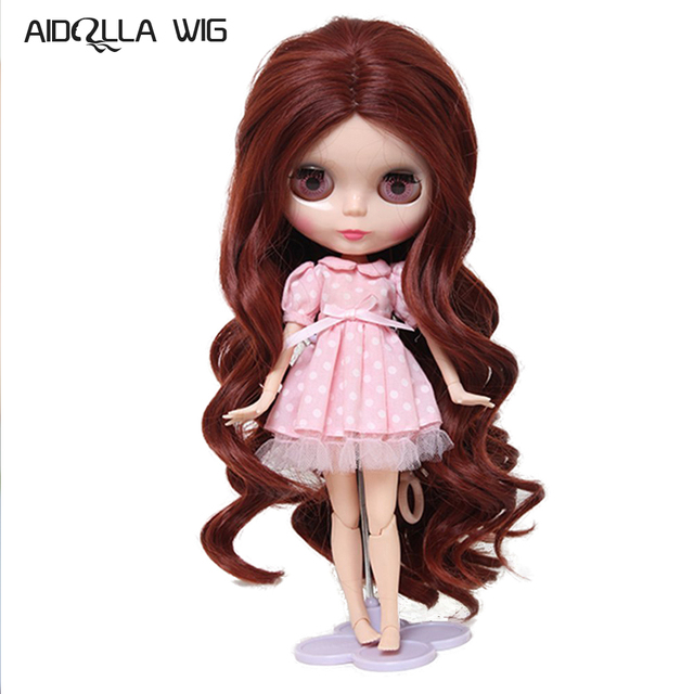 High Temperature Fiber Synthetic Loose Spiral Curly Wavy Baby Doll