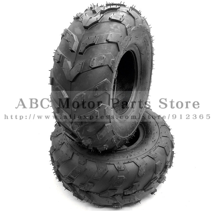 2pcs/lot Of 6 Inch ATV Tire 145/70-6 Four Wheel Vehcile Fit For 50cc 70cc 110cc Small ATV Front Or Rear Wheels