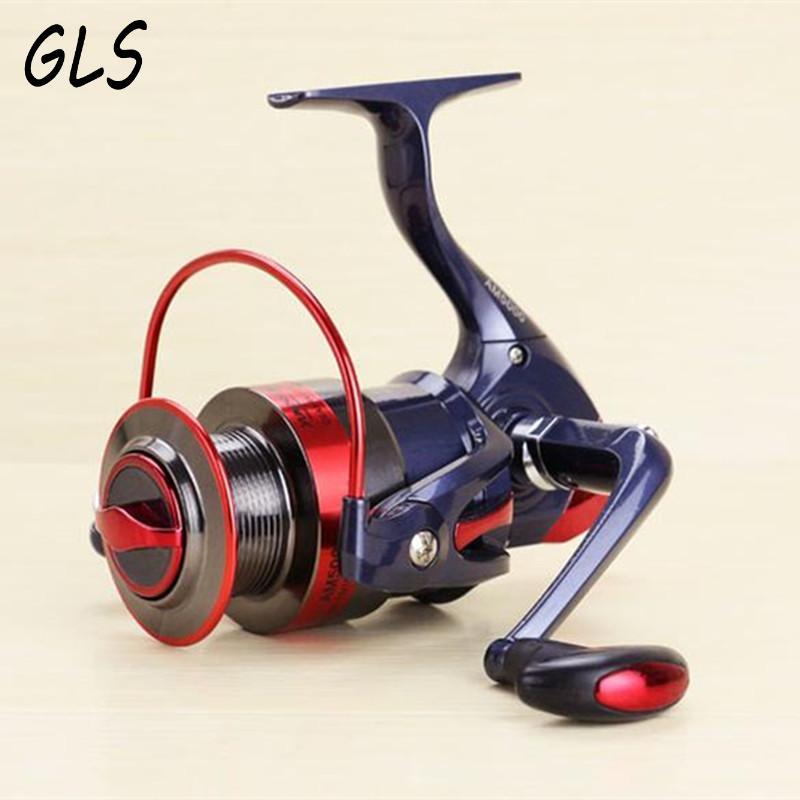 Spinning Tamburi de pescuit, mâner stânga / dreapta Metal Spool, - Pescuit