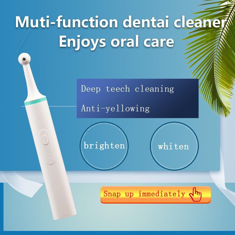 limpador de dentes eletrico remover a mancha dental tartaro odor oral 30 60s dentes branqueamento esmalte