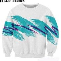 2017 Autumn 3D Sweatshirt Unisex Sweatshirt Harajuku Hoodies 90s Jazz Solo Paper Cup Crewneck Sweatshirt Fashion