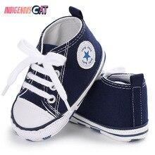 New Canvas Baby Sneaker Sport Shoes For Girls Boys Newborn Shoes Baby Walker Infant Toddler Soft Bottom Anti-slip First Walkers цены