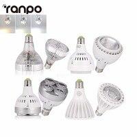 Par30 Lâmpada LED de alta Potência Holofotes E27 AC110V 220 V SMD COB Fichas OSRAM 25 W 35 W Lâmpadas de Teto Downlight Quente Fresco branco