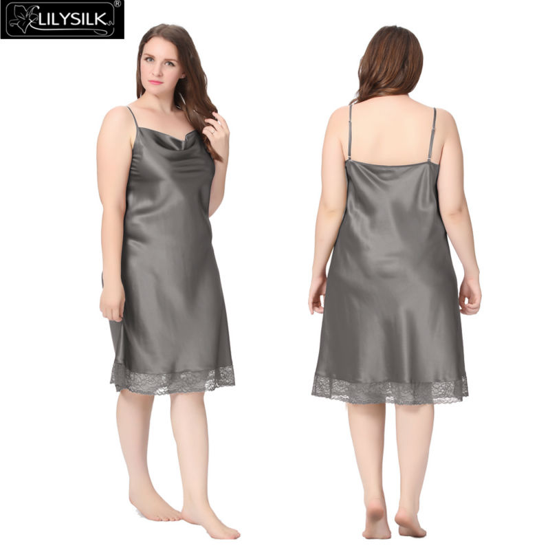 1000-dark-gray-22-momme-lacey-hem-mid-length-silk-nightgown-plus-size-01