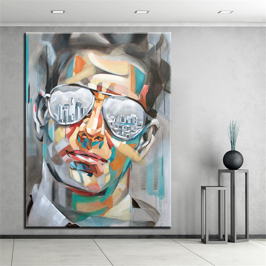 Large size printing oil painting los angeles wall painting for Painting in los angeles