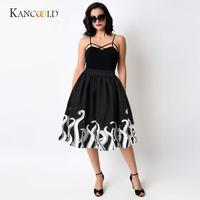 KANCOOLD Women S Skirts Girl Women S Sexy Skirts Octopus Squid Fancy Print Pattern Mini Knee