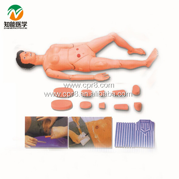 Advanced Full Function Nursing Manikin (Female) BIX-H130B W190 bix h135 advanced male full function nursing training manikin wbw031