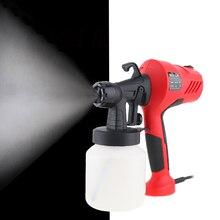 цена на 110V/220V 400W Electric Spray Gun HVLP Paint Sprayer Painting Compressor with Adjustable Flow Control