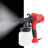 110V/220V 400W Electric Spray Gun HVLP Paint Sprayer Painting Compressor with Adjustable Flow Control