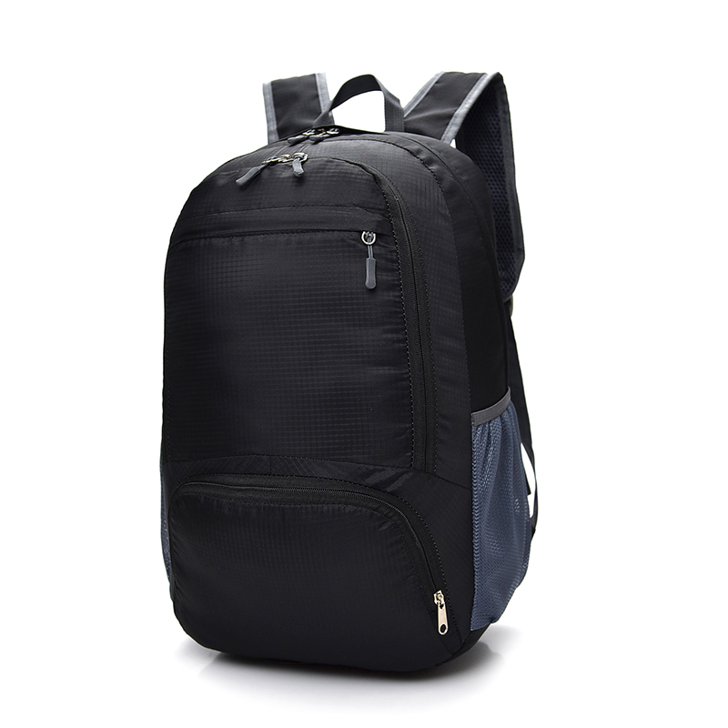 Folding Waterproof Nylon Travel Backpack 15.6inch Laptop Bag Casual Women Backpack School Backpacks for Teenage Girls Mochila bacisco men women backpack 16inch laptop backpacks for teenage girls casual travel bags daypack canvas backpack school mochila