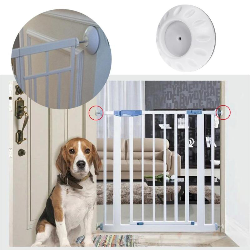4pcs/set Baby Safety Protector Doorway Fence Safety Wall Bumpers Protector Guard Accessories for Baby Kid Pet