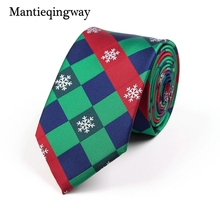 Фотография Mantieqingway Brand Christmas Ties Men